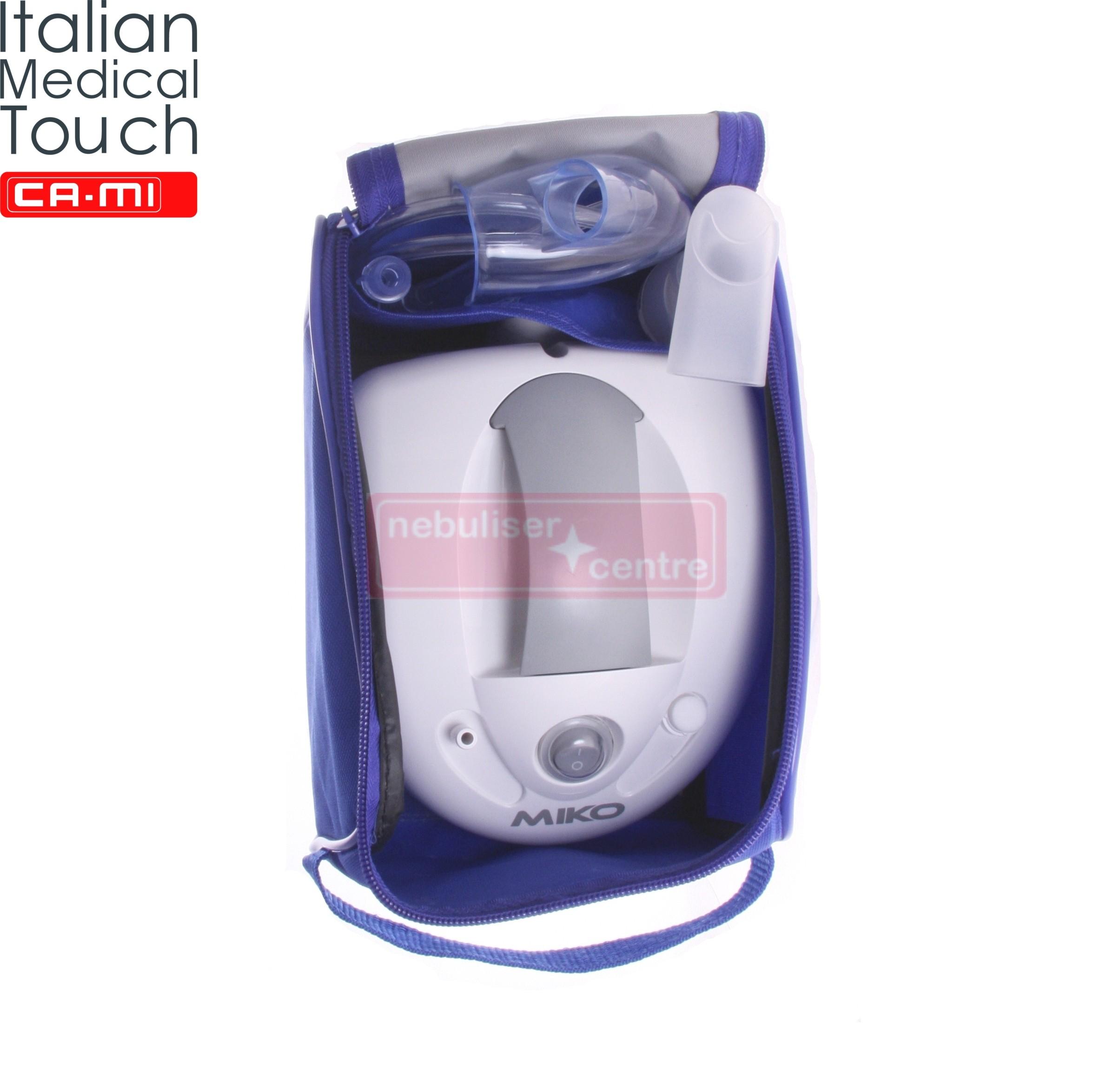 Asthma Nebuliser CA-MI Miko. Recommended Nebuliser for Asthma
