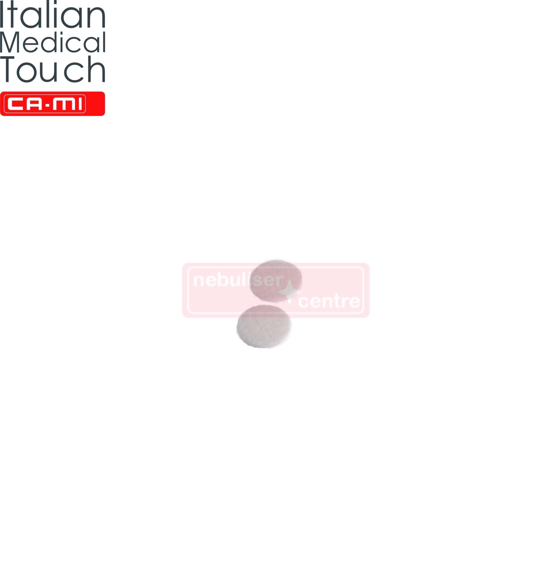 Nebulizer filter for CA-MI Speedymed nebuliser
