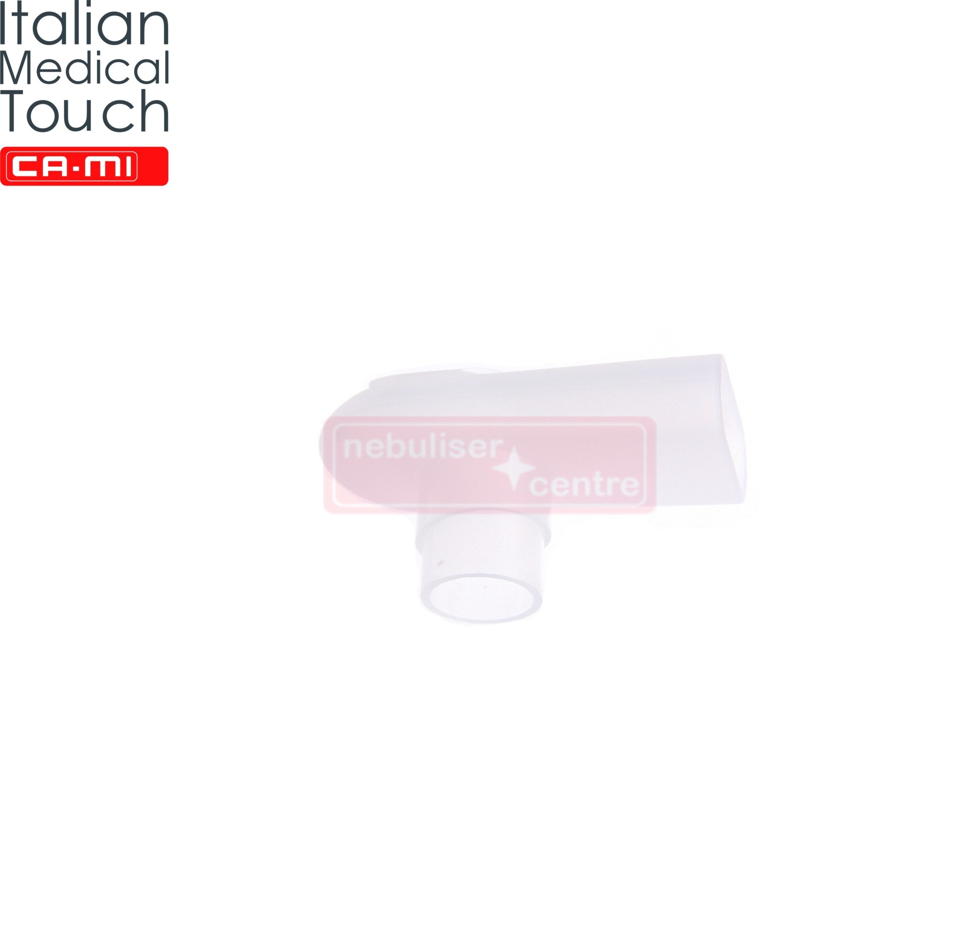 Nebuliser Mouthpiece for CA-MI HiFlo nebulisers