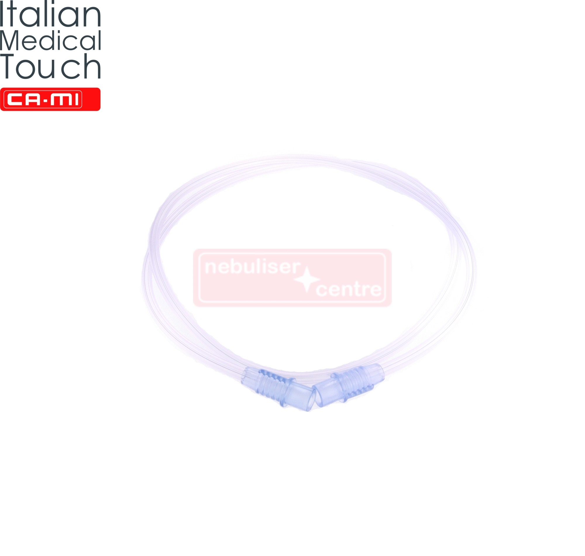 Nebulizer tubing for CA-MI HiFlo nebulizers