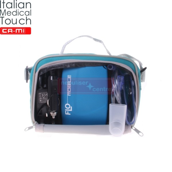 Portable Nebuliser CA-MI Mobile. The best Travel Nebuliser.