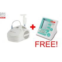Nebuliser CA-MI Eolo plus FREE Blood Pressure Monitor CA-MI MyPressure