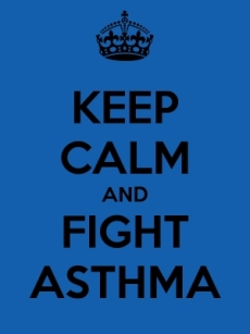 Keep Calm and Fight Asthma